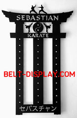 Belt-Display.com  #1 Selling Karate Belt Display Personalized | Exclusive designs