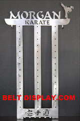 Karate Belt Display: Tae kwon do Belt Holder: Martial Arts Belt Rack