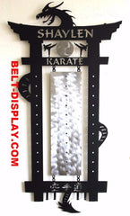 Karate Belt  Display: Martial Arts Belt Display Rack: Tkd Belt Holder