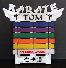 Karate  Belt  Display
