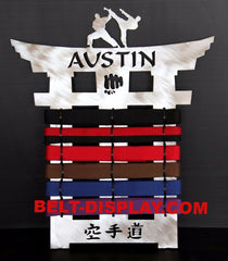 Karate  Belt  Display Rack