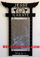 Martial Arts Belt Holder: Karate Belt Rack: Martial Arts Belt Rack