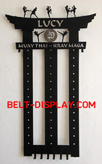Belt-Display.com |  Taekwondo Belt Display | Karate Belt Rack | Martial Arts Belt Holder