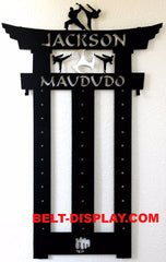 Madudo Belt Display Rack / Martial Arts Belt Holder