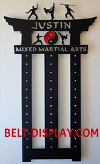 2019 Personalized Karate Belt Display, Brilliant Martial Arts Design,  | Belt-Display.com