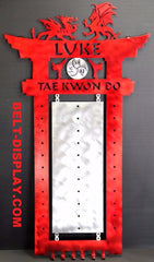 Martial Arts Belt Display: Tae Kwon Do Belt  Rack: Karate Belt  Display