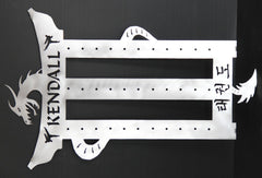 Tae Kwon Do Belt Rack / / 10 level / Kendall