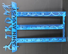 Martial Arts Wall  Mount  Belt  Rack