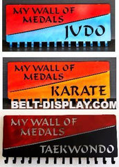 Martial Arts Medal Display: Karate Medal Holder: Taekwondo Medal Display