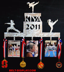 Martial Arts Medal Display