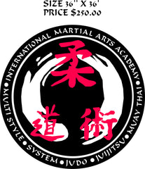 Martial Arts Decor / Sensei Ruocco