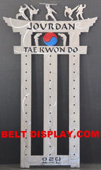 Karate Belt Display | Tae kwon do Belt Holder | Martial Arts Belt Rack