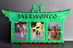 Karate Medal Display: Martial Arts Picture Holder: Taekwondo Medal Display