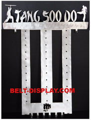 Tang Soo Do Belt Display Rack