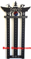 ATA Songahm Taekwondo: Tae kwon do Belt Display: Tae kwon do belt holder