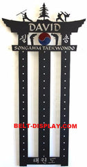 SongahmTaekwondo Belt Display: Martial Arts Belt Rack: ATA Belt Display