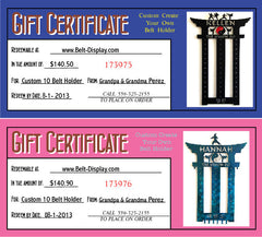 A Gift Certificate thats Perfect for any occasion