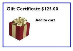 Belt Display Gift Certificate