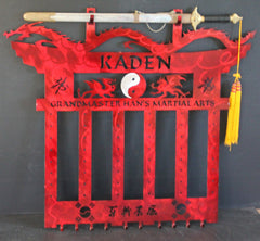 Martial Arts Belt Rack / Stonebraker