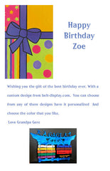 Happy b-day Gift certificate