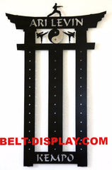 Kempo Karate  Belt  Display Rack