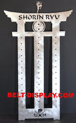 Martial Arts Belt Rack / Shorin Ryu