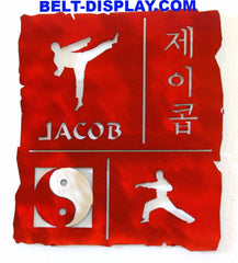 Korean Name Translation Plaque