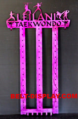 Personalized taekwondo belt holder 12 belt