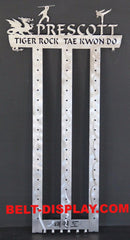 taekwondo belt display rack 14 level holder