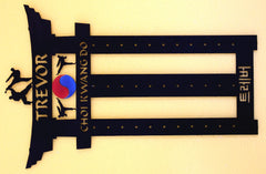 Martial Arts Belt Rack / Karl