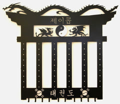 Martial Arts Belt Rack / Personalized Korean name
