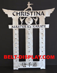 Tang Soo Do Belt Display