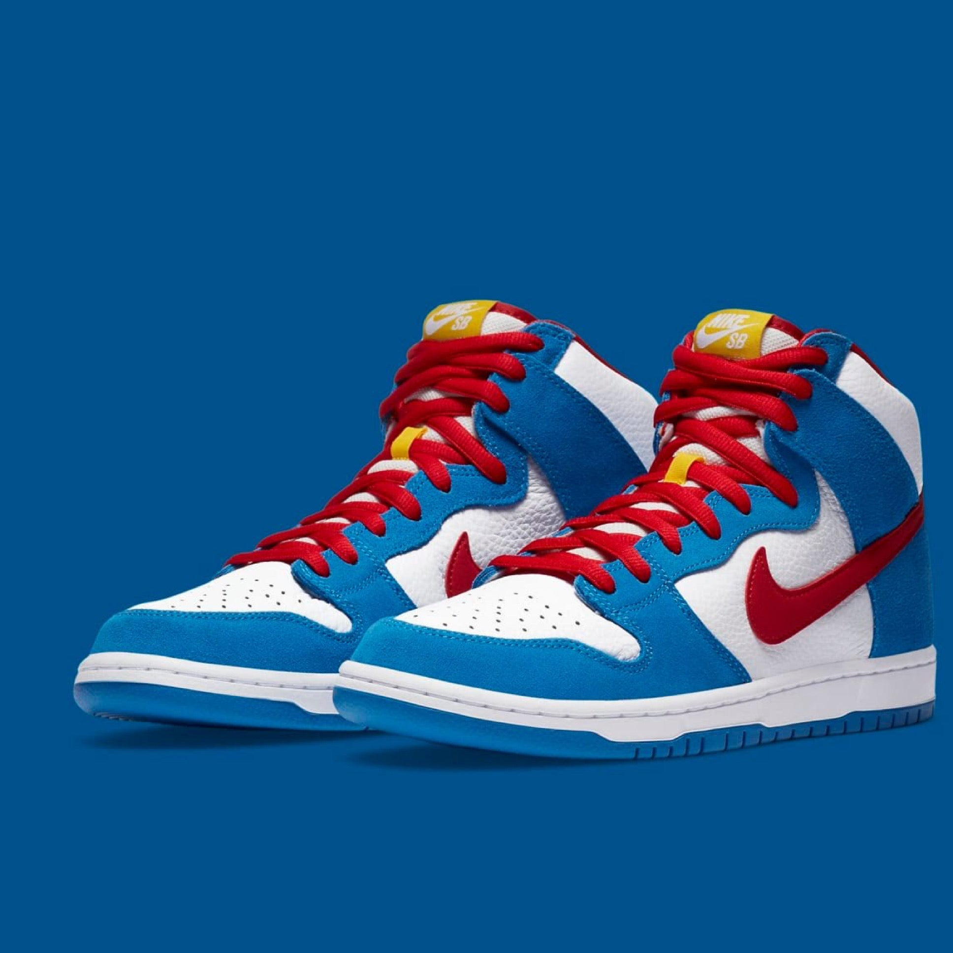 Nike SB Orange Label Doraemon Dunk Raffle