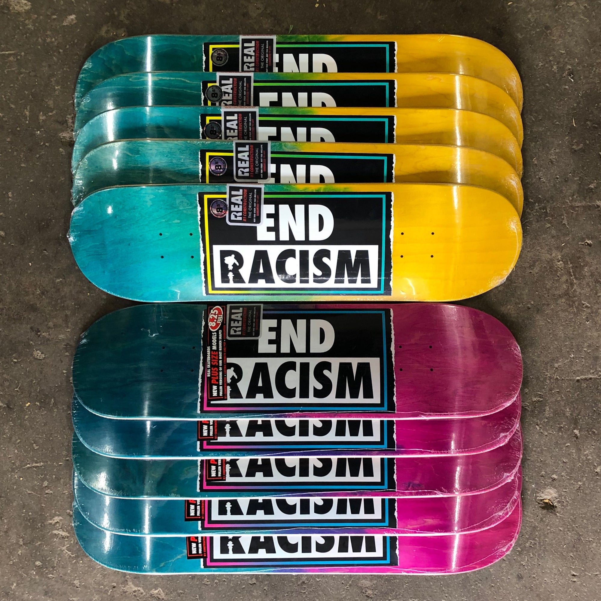 End Racism x Real Skateboards