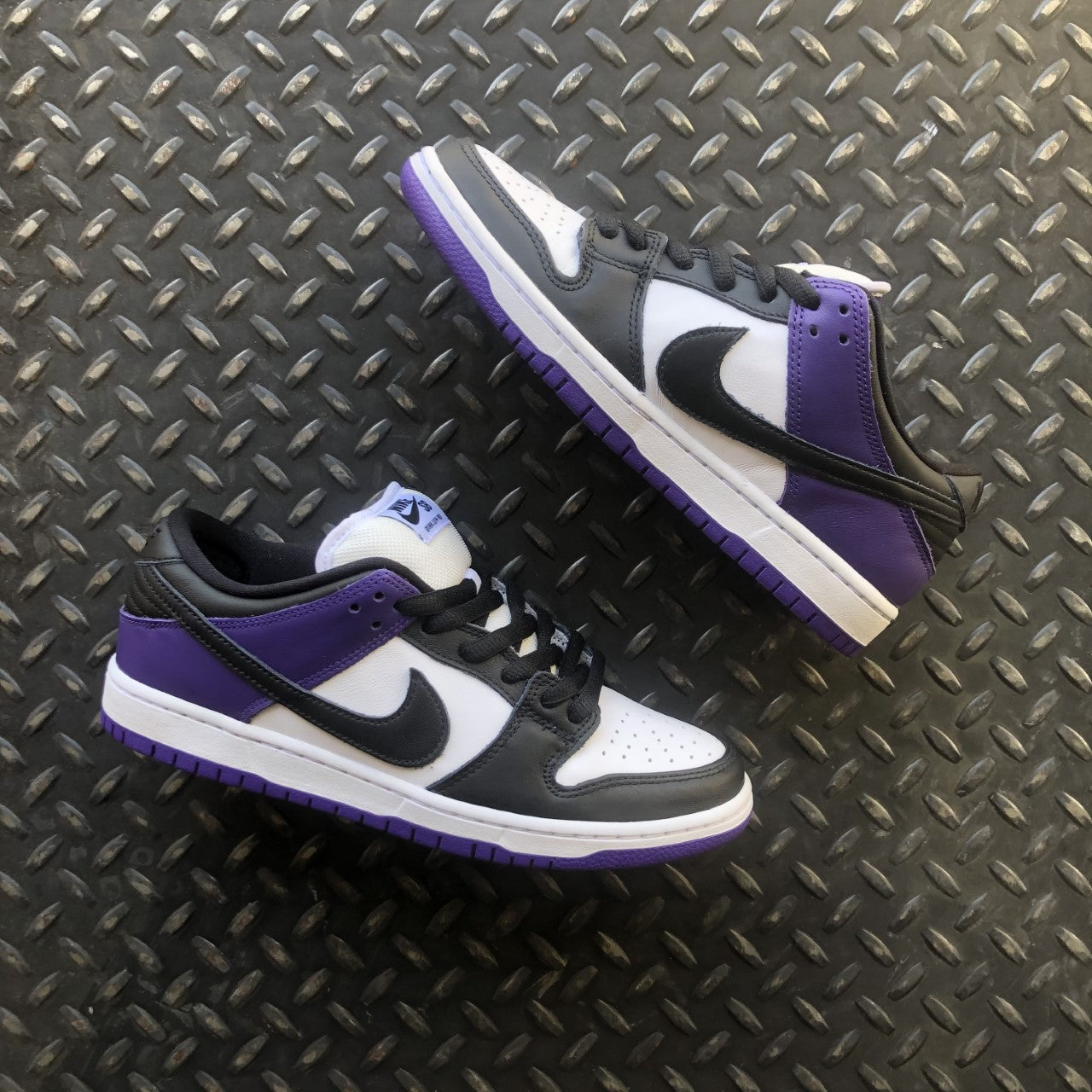 Nike SB Court Purple Dunk Low Raffle