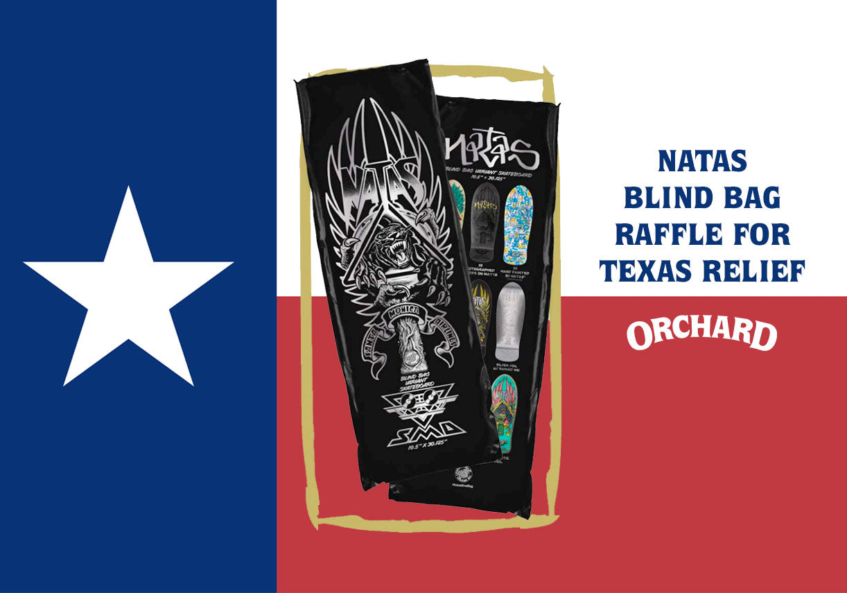Natas Blind Bag Raffle for Texas Relief