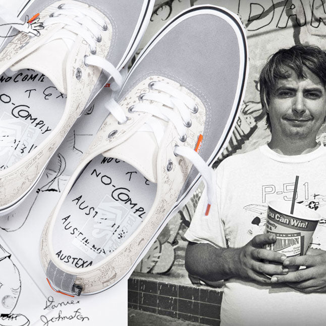 Daniel Johnston x No Comply Vans Coming Soon