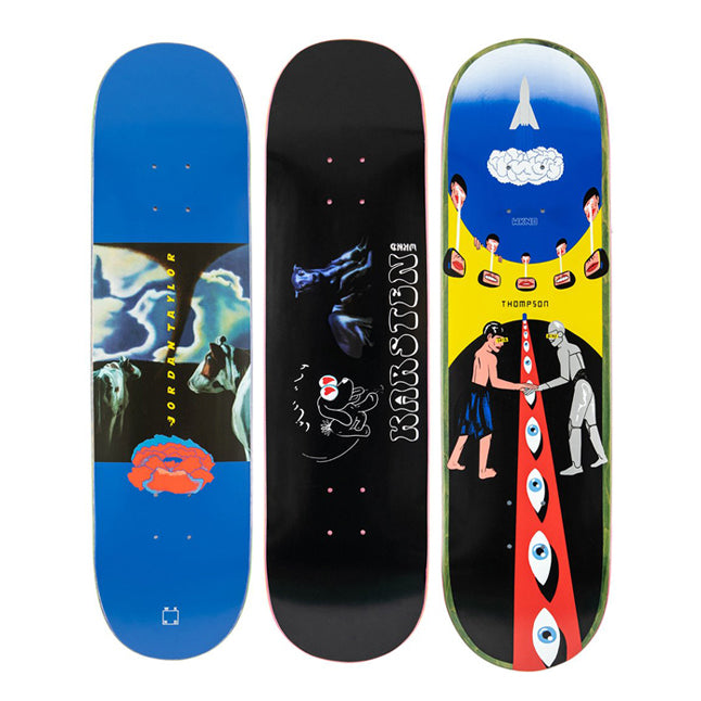 Alexis Sablone WKND Skateboards Deck Graphics