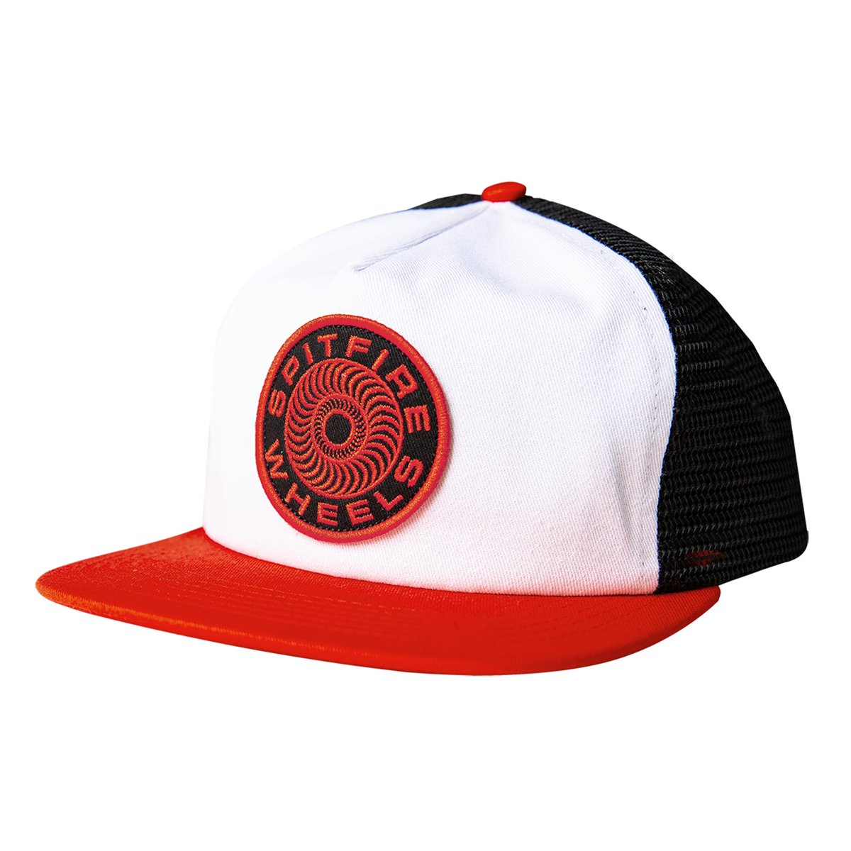 Spitfire Classic 87 Swirl Snapback White/Red