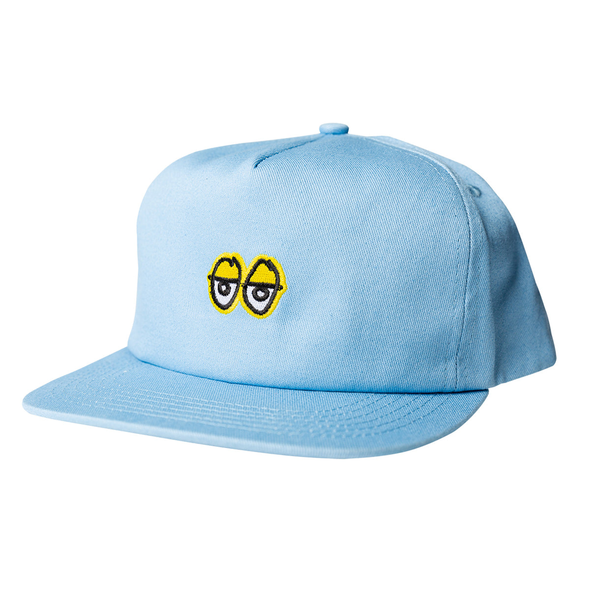 Krooked Eyes Snapback Blue/Yellow