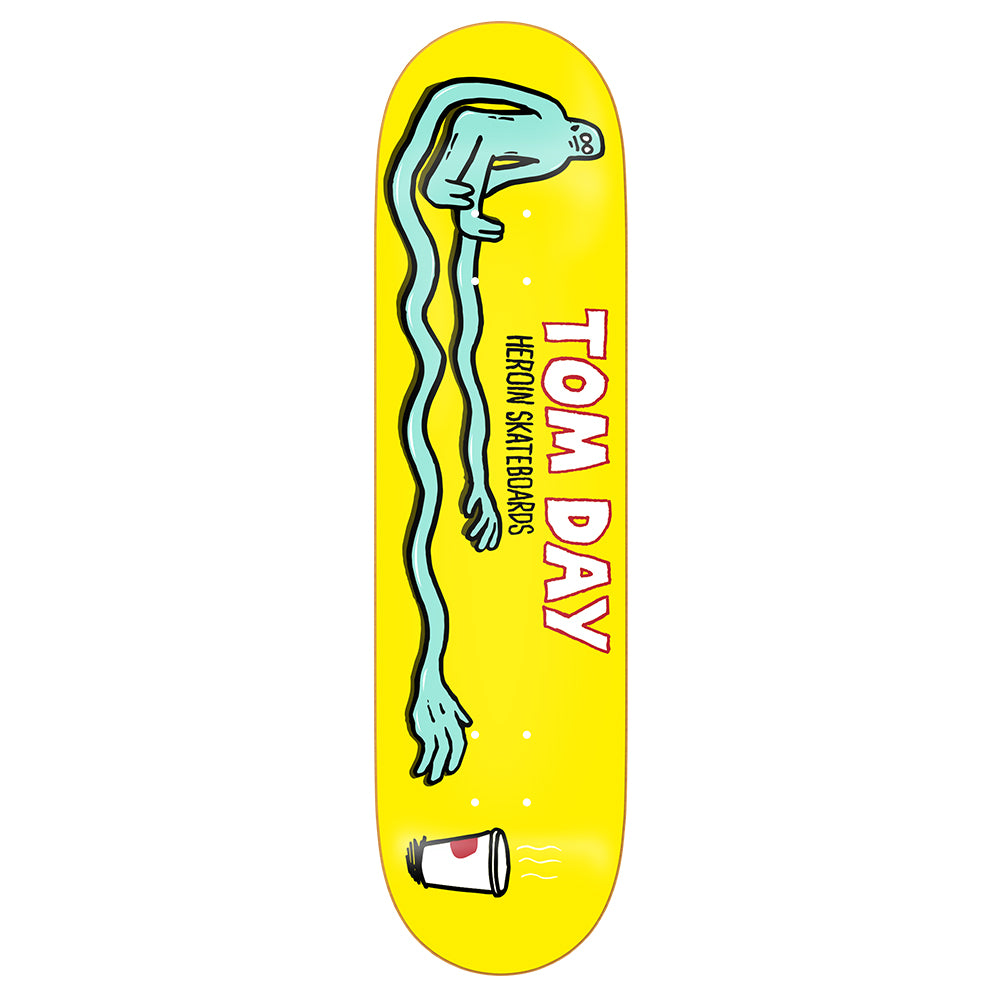 Heroin Tom Day Stretch Deck 8.5""