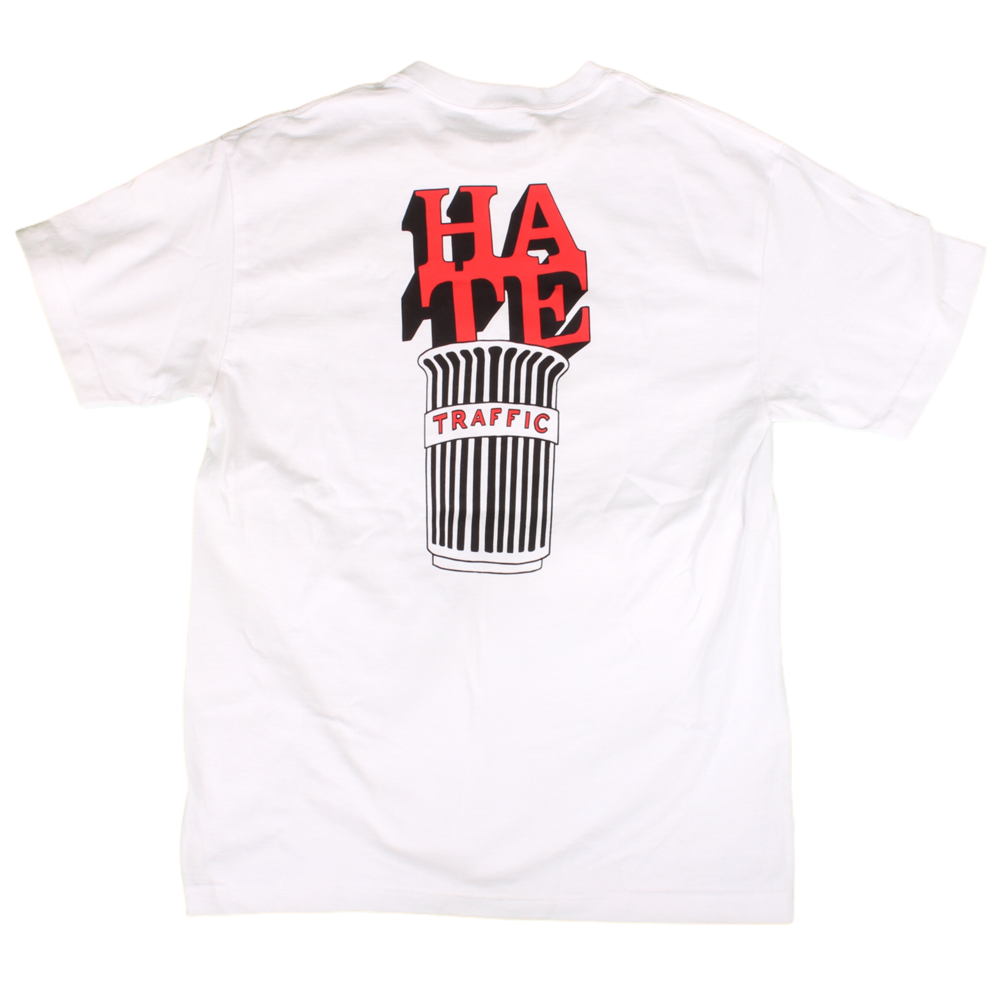 Traffic Trash Tee White