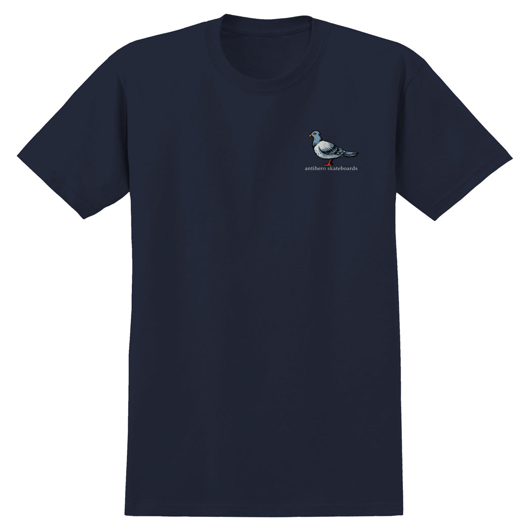 Anti Hero Lil Pigeon Tee Navy