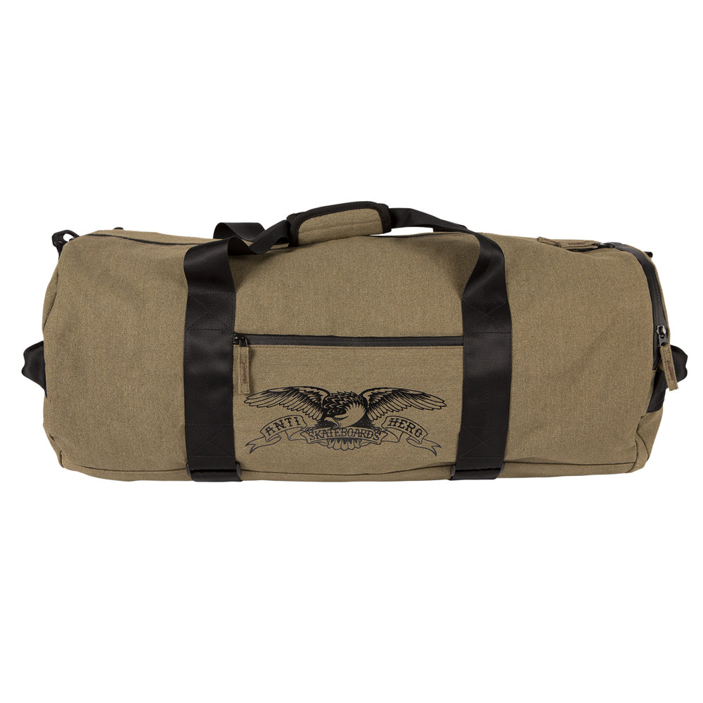 Anti Hero Basic Eagle Duffle Bag Olive