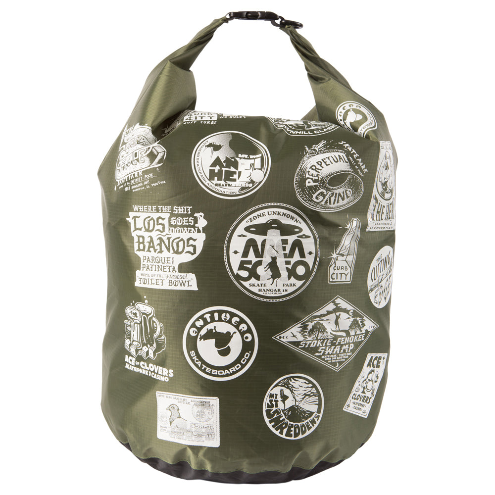 Anti Hero Park Series Dry Bag Olive