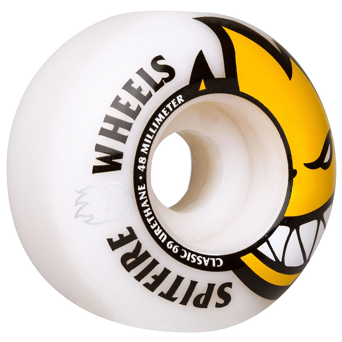 Spitfire Wheels Bighead 48mm 99A White/Yellow Head