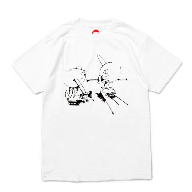 Hopps Tee Williams Static Days White
