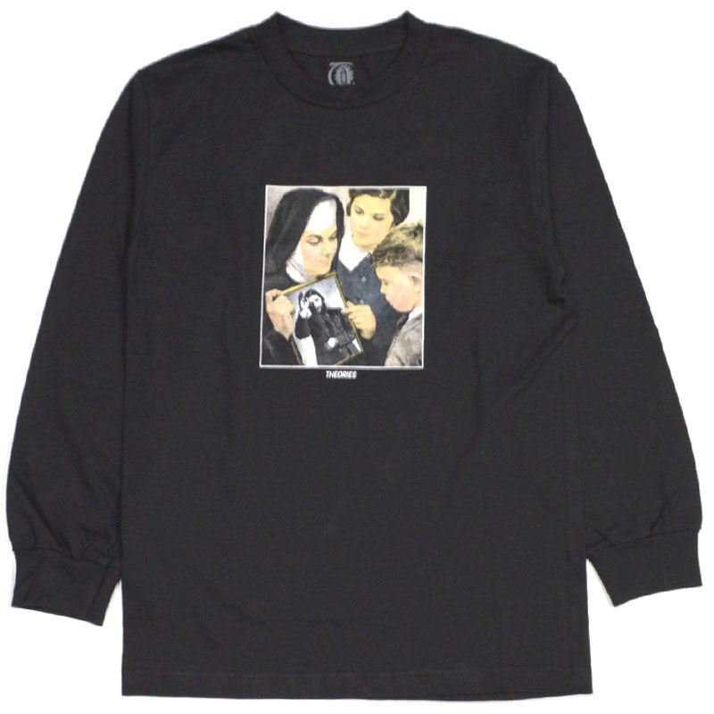 Theories LS Tee Sunday School Black