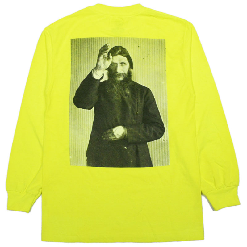 Theories Longsleeve Tee Rasputin Safety Green