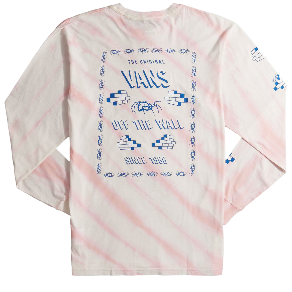 Vans Widow Maker Tie Dye Tee Cool Pink